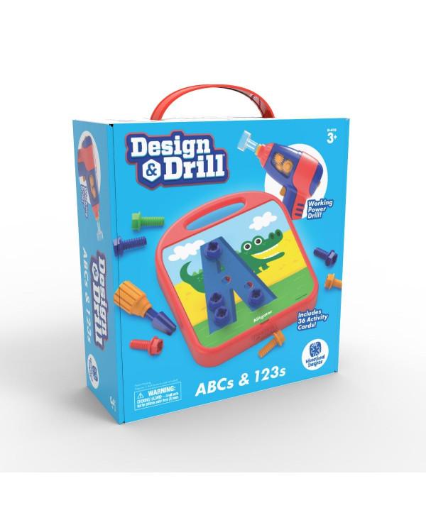 Design & Drill - ABCs & 123s